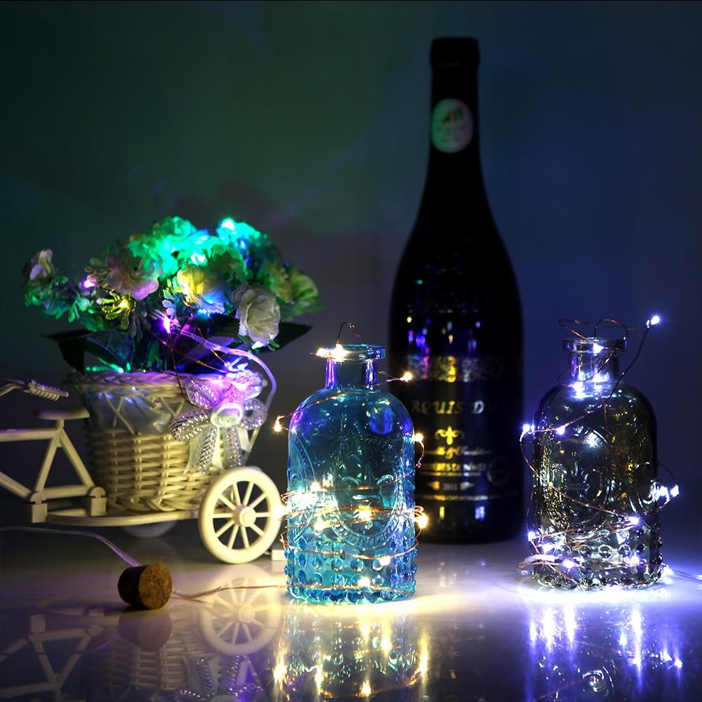 2M 20 LED LED Drut miedziany String Lights do dekoracji świątecznej - Oświetlenie wakacje - Zdjęcie 4