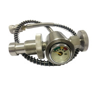 300 Bar/4500Psi Pcp Airforce Din Fill Station For Pcp Tanks Air Fill 304 Stainless Steel DIN Valve
