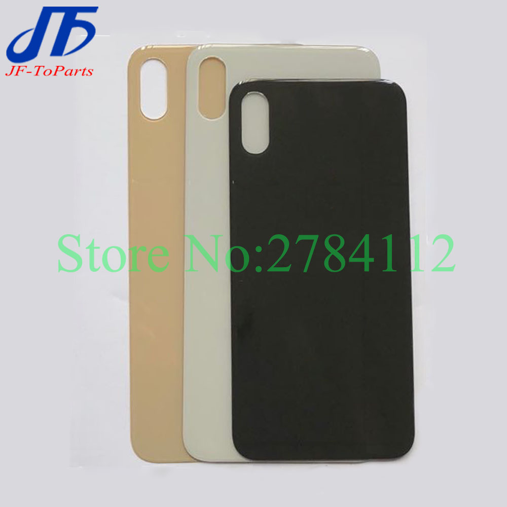30Pcs Best Quality Back Glass Replacement For iPhone XS XR XS MAX Battery Cover Rear Housing