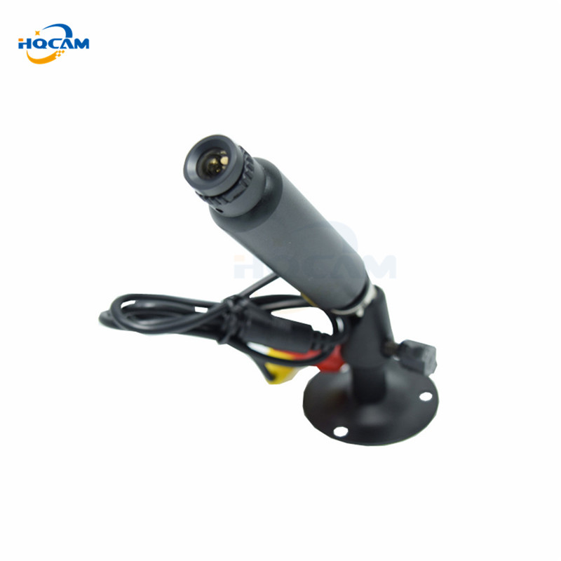 HQCAM 1/3 Sony CCD 420TVL Mini Bullet Camera indoor Security CCTV mini CCD Camera 3.6mm board lens