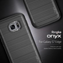 100% Original Ringke Onyx Cases for Galaxy S7 Edge Improved Strength Flexible TPU Defensive Case for Samsung Galaxy S7 Edge