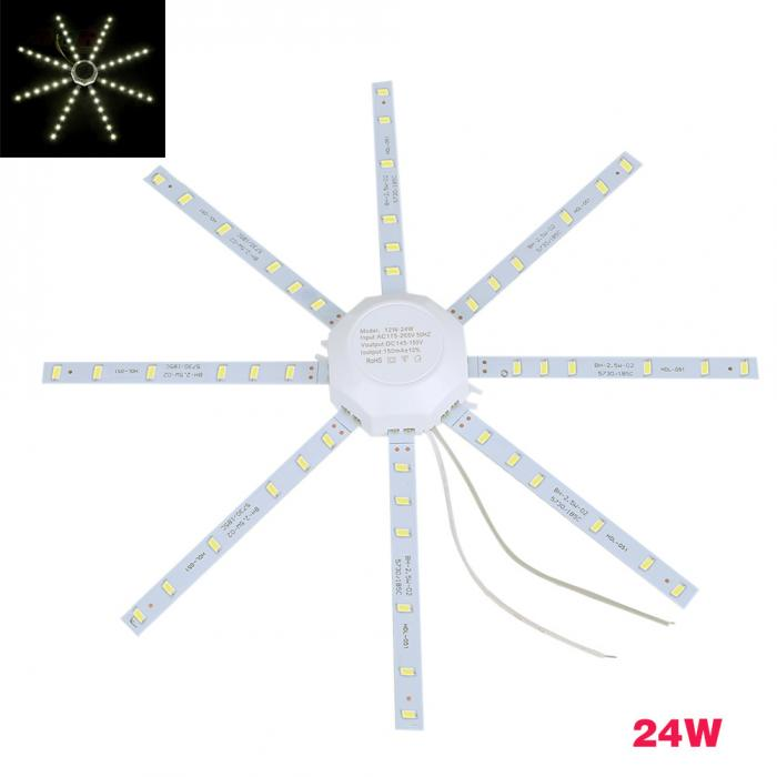 HTB1A tpjLImBKNjSZFlq6A43FXaN 12W/16W/20W/24W LED Ceiling Lamp SMD 5730 PCB Board Modified Source LED Bulb Light 220V-- WWO66