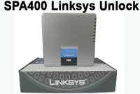 Fast Shipping Unlocked LINKSYS SPA400 4 FXO Gateway Phone Adapter Internet Telephony