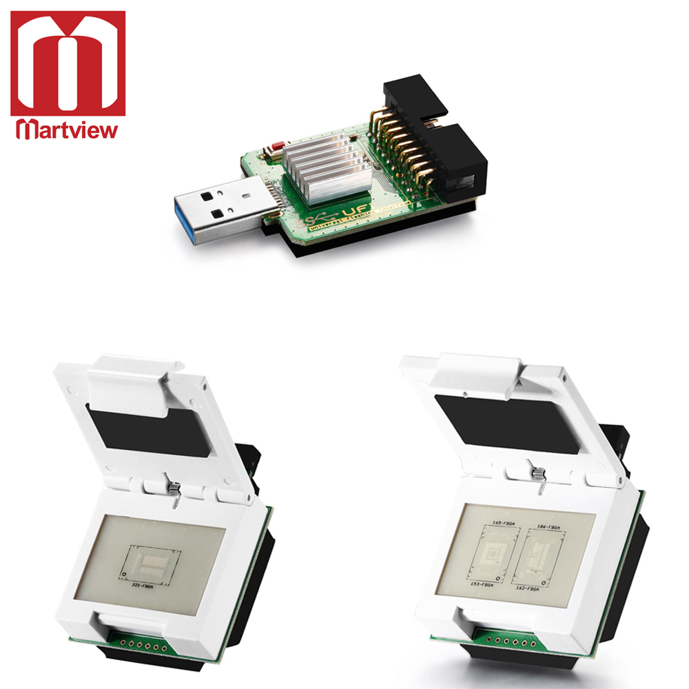 Usb3.0 Superspeed Usd/emmc Reader For Emmc Dongle Sophisticated Technologies 2 In 1 Emmc/emcp Socket Martview Emmc Emcp Socket