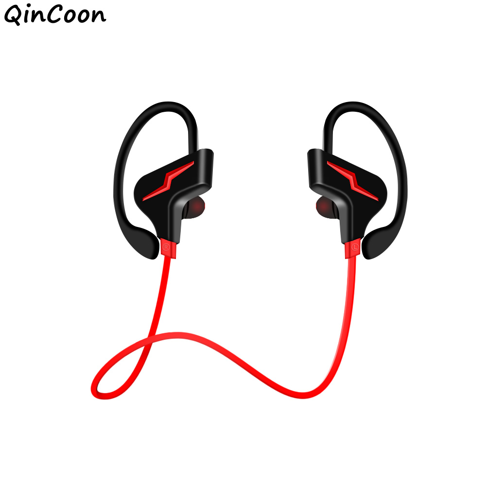 Professional Wireless Sports Earphones Bluetooth HiFi Stereo Headphones Lightweight Sweatproof Earbuds for Phone iPhone Samsung new fashion sweatproof wireless bluetooth v4 0 sports stereo headphones with mic ear hook earbuds earphones for iphone for sony