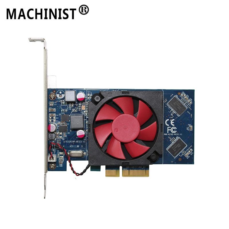AMD Radeon R5 330 2G DDR3 desktop Video Scheda Grafica PCIe Senza Testa Per HP 806650-001 R15DV2HP-ARIES-V1AMD Radeon R5 330 2G DDR3 desktop Video Scheda Grafica PCIe Senza Testa Per HP 806650-001 R15DV2HP-ARIES-V1