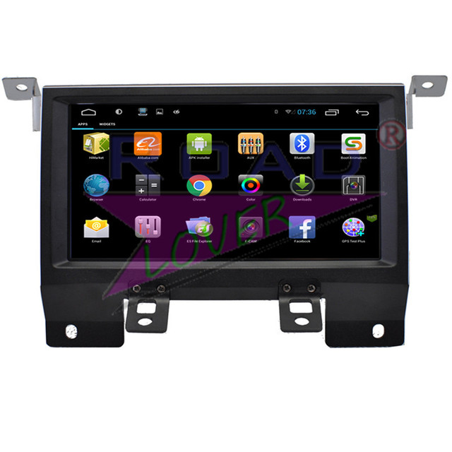 Roadlover Android 6.0 Car Autovideo Player For Land Lover 2013 2014 2015 GPS Navigation Stereo Magnitol Radio Double Din NO DVD 1
