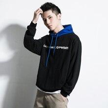 Hoodie Hip Hop Pullover Streetwear Harajuku Hoodies & Sweatshirts Skateboard Casual Trend Mens Clothing  Male Embroidery