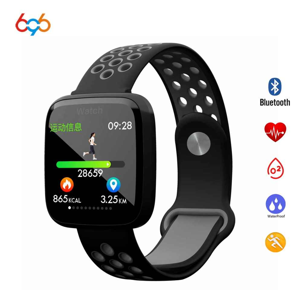 mejor diseño de calidad salida en línea Reloj inteligente 696 F15 IP68 impermeable natación reloj ...