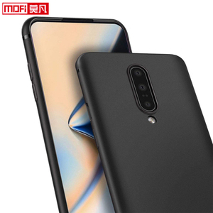 Image 5 - matte case for oneplus 7 pro case oneplue 7 cover silicon back black soft Mofi ultra thin protective coque OnePlus 7 Pro Cover