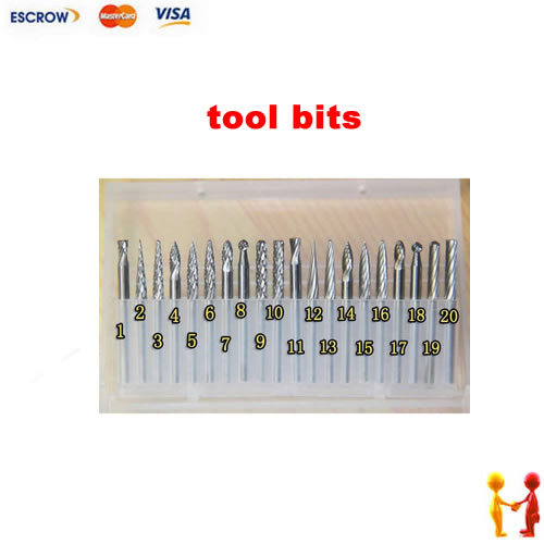 20pcs/lot Tungsten Rotary File/Burr suit 3X3mm reamer drill tool bits endmill router bit milling cutters 20pcs lot hss routing router grinding bits burr file set milling cutter dirll bit dremel engraving wood rotary tool hot sale