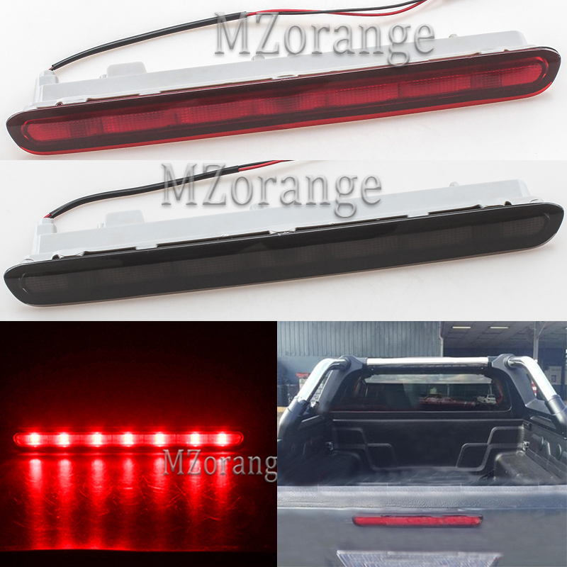 LED High Positioned Additional Third Brake Light For Toyota Hilux REVO 2015 2016 2017 Car styling