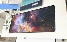 Galaxy pad мышь объемный рисунок компьютерная игровая мышь pad 70×30 см padmouse популярный Коврик Для Мыши Эргономичный гаджет настольные коврики