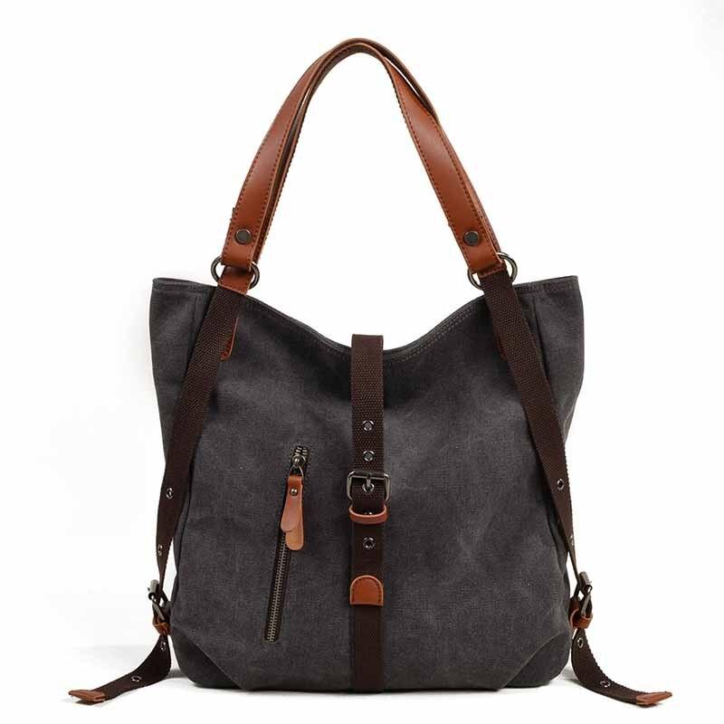 Canvas Shoulder Bag Designer Tote Lady's Handbag For Multi Functional Travel Handbags