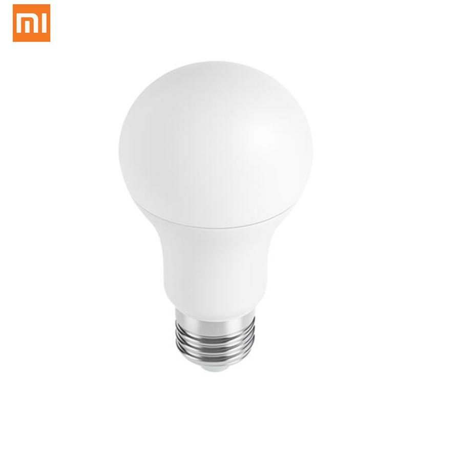 imágenes para Xiaomi MIJIA App Color Blanco 3000 k-5700 k 6.5 W 450lm 220-240 V 50/60Hz LED E27 Bombilla Luz Mi Grupo Mijia APP WiFi Remoto Control