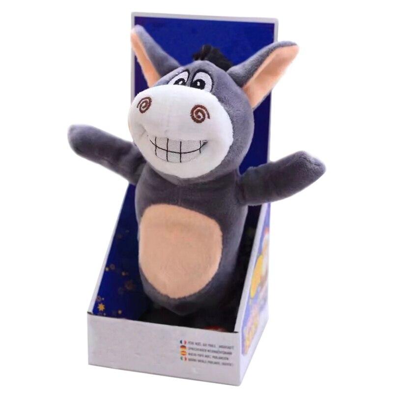 Sound Record Parler Âne En Peluche jouets interactive Âne jouet marche drôle cadeau