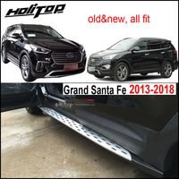 BM style nerf bar side step running board for Hyundai Grand Santa Fe 2013 2018,from high quality factory,free shipping to Asia