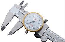 Table caliper 150mm/0.01mm Dial Caliper Stainless steel Vernier Caliper Gauge Micrometer Measuring tools