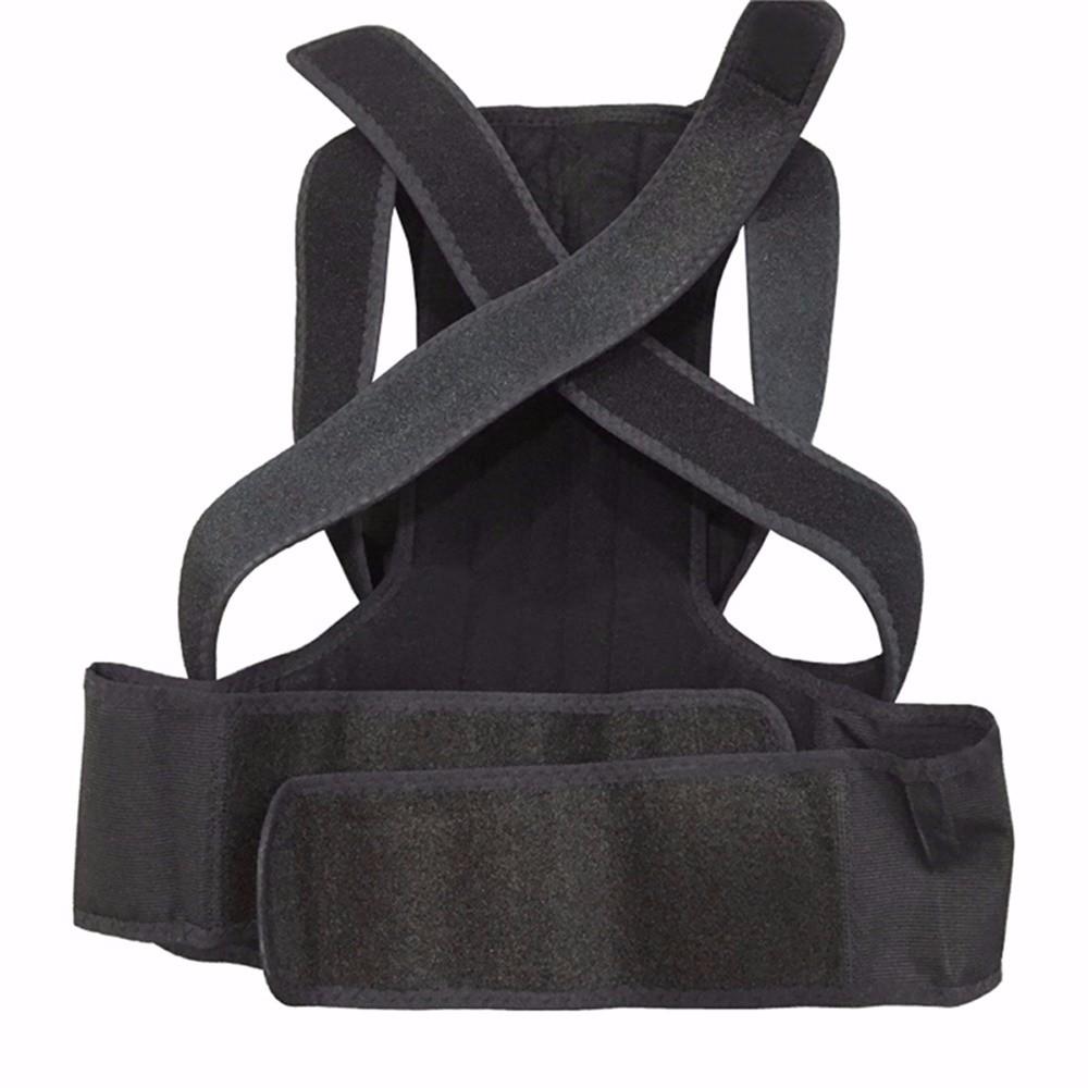 Aofeite  B003 orthopedic belt for back back posture Belt Round Shoulder Back Brace adjustable posture corrector men 4jpg