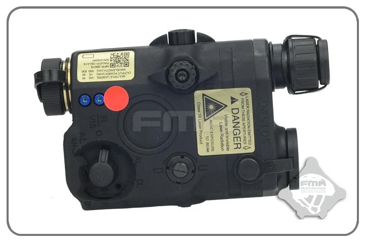 FMA PEQ LA5 Upgrade Version LED White light + Red laser with IR Lenses Torch Camping for Helmet Hunting TB0072/TB0074/TB0076 tb fma an peq 15 upgrade version led white light