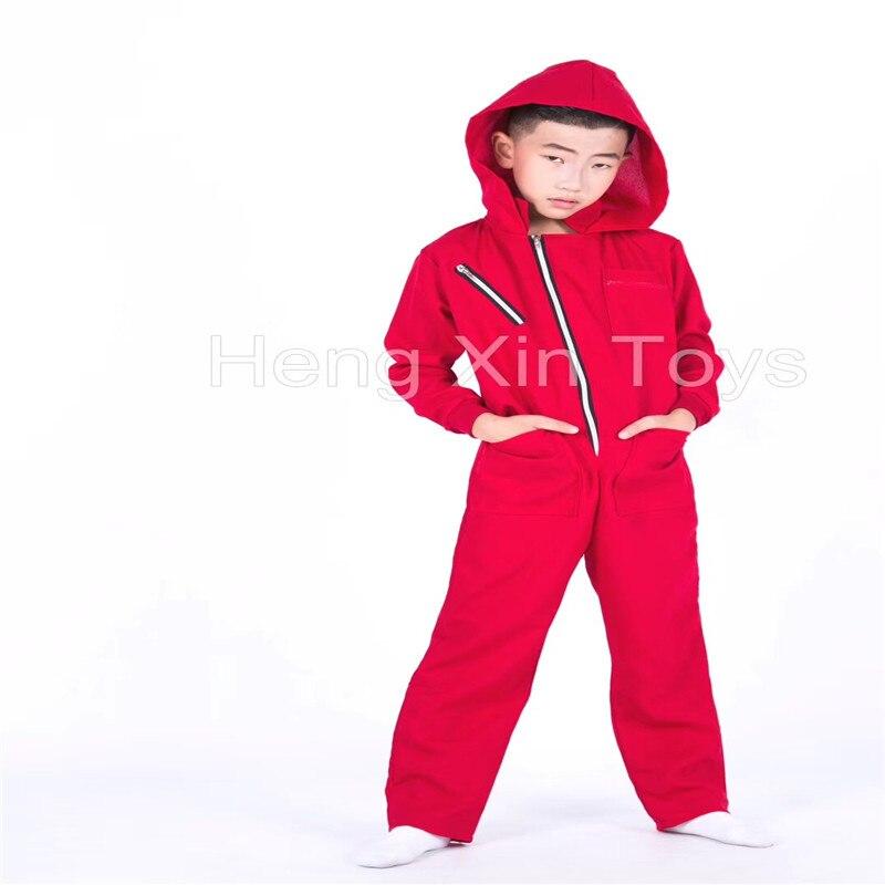 La Casa De Papel Salvador Dali Cosplay Costume Salvador Dali Cosplay Movie Costume For kids