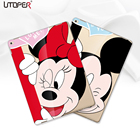 UTOPER Mouse Case For Apple ipad Air Case Mickey Transparent Cover For iPad 5 Coque For iPad Air 1st Case For iPad Air Case