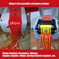 1 UNID USB cinta de transferencia térmica impresora de etiquetas impresora con el software de diseño de etiqueta máquina de impresión textil