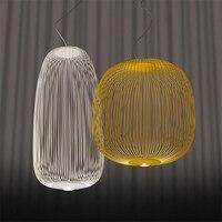 Bài Hiện Đại Foscarini Nan Hoa Mặt Dây Chuyền Đèn Công Nghiệp Lồng Chim Đèn Phòng Ăn Phòng Khách Nhà Trang Trí LED Treo Đèn
