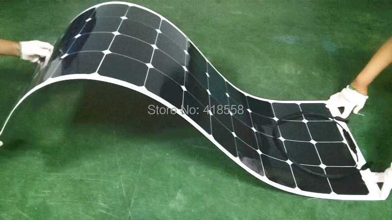 Aliexpress Com Buy Semi Flexible Solar Panel 140w Mono