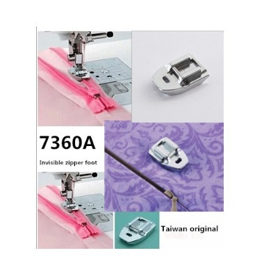 HOUSEHOLD SEWING MACHINE PARTS PRESSER FOOT 40A INVISIBLE ZIPPER Inspiration Juki Sewing Machine Parts