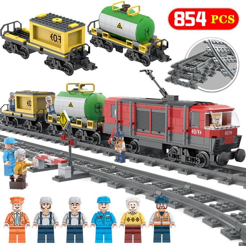 Les blocs de construction de modèle de série de créateur Compatibe avec le jouet d'architecture de gare interurbaine de LegoINGLYS pour des enfants