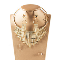 Dealky Alibaba Saudi Dubai Gold Necklace 4 Pcs Costume Jewelry Set In Latest Design For Women