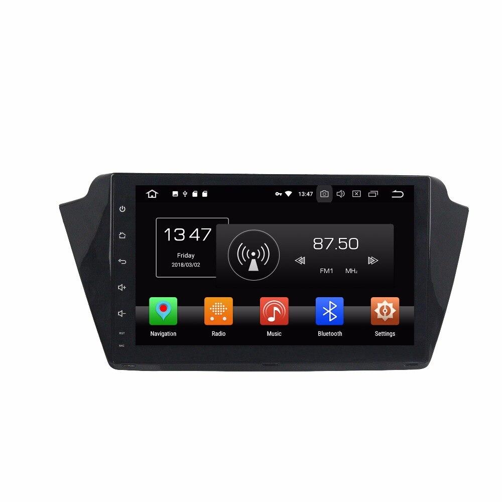 Android 8.0 8 ядерный 4 ГБ Оперативная память dvd плеер автомобиля для Skoda Fabia 2015 2017 IPS сенсорный экран штатные ленты рекордер радио GPS