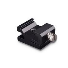 Camera Metalen Koude Schoen Hot Shoe Flash Bracket Mount Adapter Met 1/4 Statief Schroef Light Stand Statief