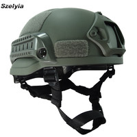 Airsoftsports Helmet Mich 2002 Army Military Tactical Helmet Airsoft Accessories Cs Fast Protection Helmet Airsoft Casco