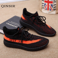 Summer Casual Shoes Men Breathable Flynit Autumn Mesh Lovers Shoes large size 36 46 high top sneakers zapatillas de agua unisex