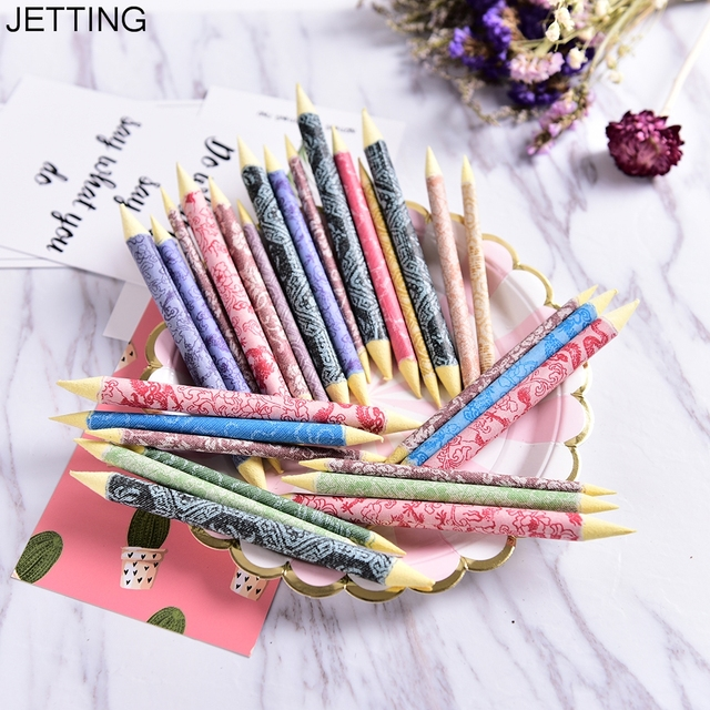 JETTING Paper Painting Pen Marker Tool kit Blending Smudge Stump Stick Tortillon Sketch Art White Drawing Pen Tool Rice Paper
