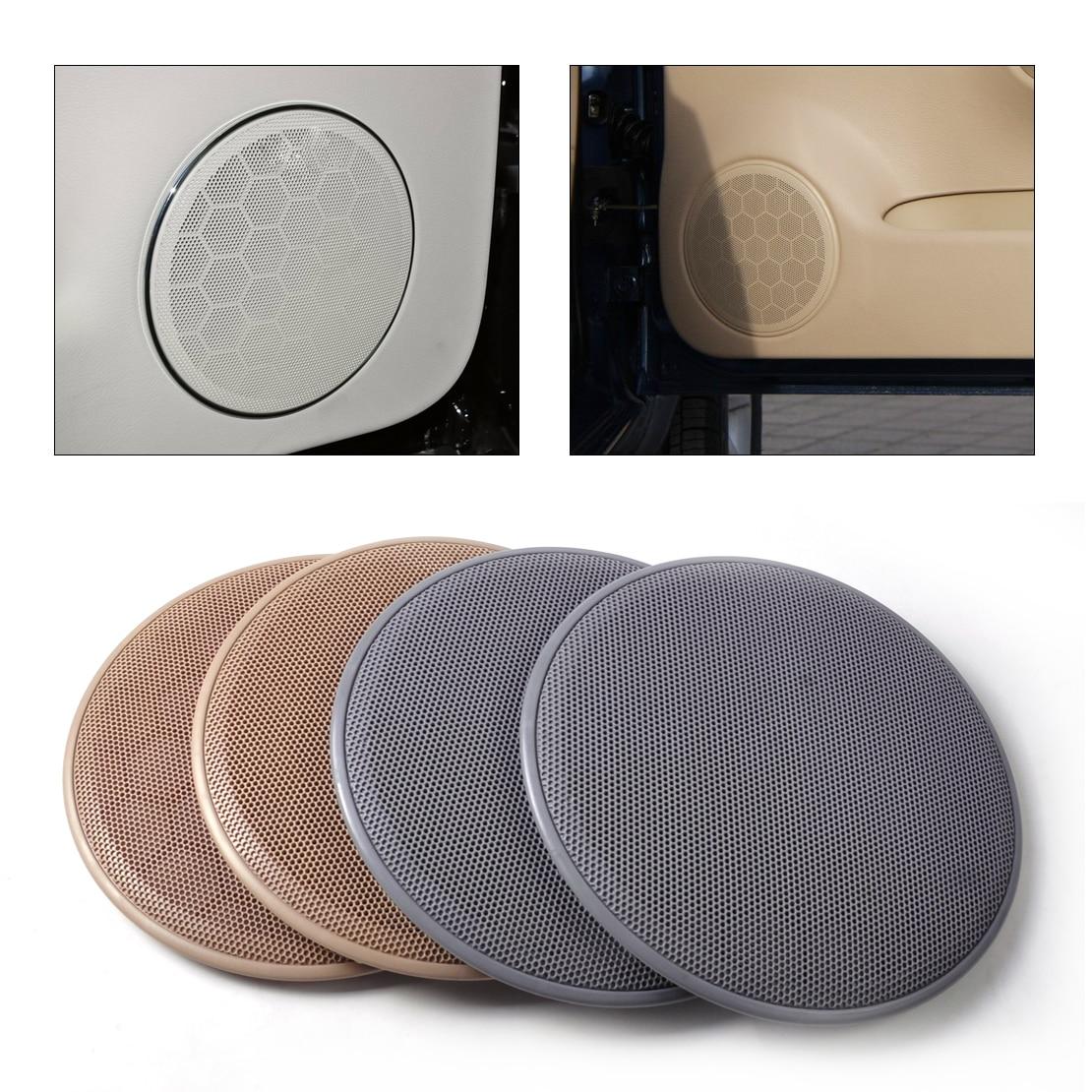 dwcx 2pcs door loud speaker cover grill 3b0868149 for volkswagen passat b5 jetta mk4 golf gti. Black Bedroom Furniture Sets. Home Design Ideas
