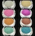 0.6mm Translucidez DIY 3D Decoración Del Arte Del Clavo Mini Cuentas de Vidrio, Tiny Caviar Perlas de Uñas, 0.6 ~ 0.8mm