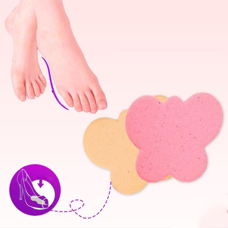 KLV 2pcs Sole High Heel Foot Cushions Forefoot Anti-Slip Insole Shoes Pad Soft Sponge New цена и фото