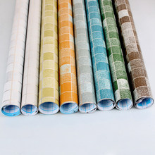 Kitchen Tools Self Adhesive Waterproof Wall stickers Wallpaper Rolls For accessories Furniture Decoration Sticker