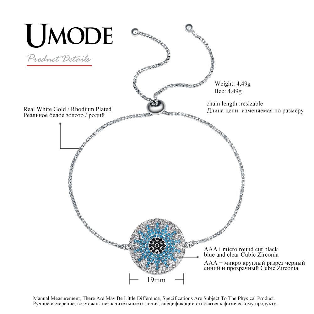 0d4eb79a82 UMODE New Fashion Party Austrian Rhinestone Round Chain & Link ...
