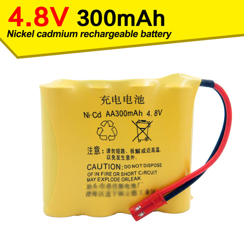 <font><b>4.8V</b></font> 300mAh nickel cadmium battery remote control toy car and other similar products parts image
