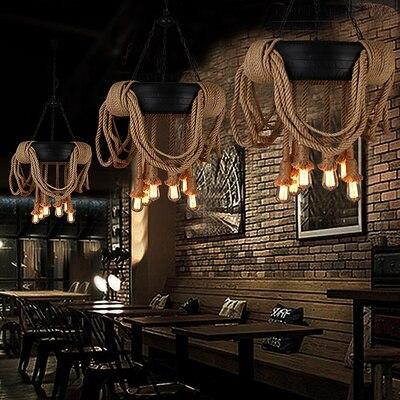Creative Retro Loft Industry Hanging Lamp Restaurant Cafe Shop Art