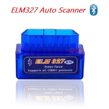 Version 2.1 Mini ELM327 Bluetooth V2.1 Read diagnostic trouble codes OBD2 Auto Diagnostic Scanner Tool car accessories