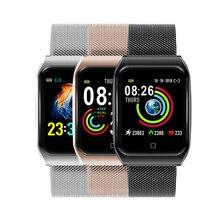 F9 Bluetooth Смарт-часы, браслет, спортивные фитнес-часы, измеритель артериального давления, пульсометр, водонепроницаемые Смарт-часы для Xiaomi