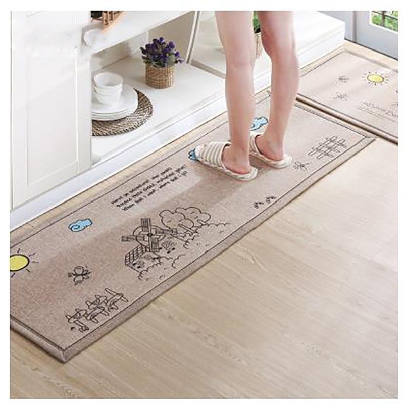 Modern Kitchen Mat aliexpress : buy 2 psc /set carpet modern kitchen mat bathroom
