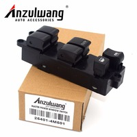 Auto Parts 25401 4M501 254014M501 Power Window Lifter Regulator Master Control Switch For Nissan Pulsar N16