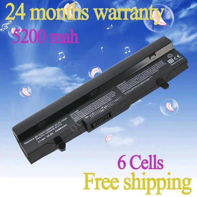 JIGU 6Cell laptop battery for Asus Eee PC 1001HA 1001P 1001PX 1005 1005H 1005HA 1005HE 1101HA PL32-1005 ML32-1005 AL31-1005
