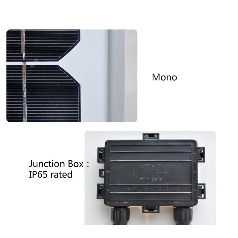solar panel 100w 18v